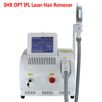 Laser Hair Removal Machine Permanent SHR OPT IPL Remover Skin Rejuvenation Pigment Acne Therapy Salon Use