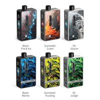 Wholesale mod pod resale online - Lostvape Gemini Hybrid Pod Kit ecigarette MTL Drip Tip W battery vape box mod kits US Warehouse