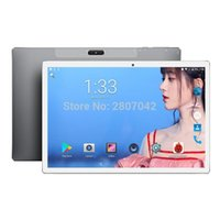 Wholesale android tab phones for sale - Group buy Inch Android Tablets MTK X20 IPS Deca core G Phone Call Tablets GB RAM GB ROM Dual WIFI tab