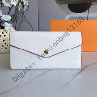 Discount star hips 60531 High Quality Women Classic Envelope-style Long Wallet Purse Credit Card With Gift Box qweru