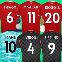 Wholesale salah soccer jersey resale online - thailand Mohamed M Salah HENDERSON FIRMINO Soccer Jersey Football Shirts VIRGIL MANE KEITA Men Kids Kits set uniforms