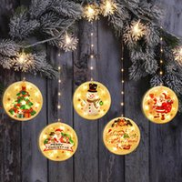 Wholesale hanging curtain lights resale online - NEW Christmas Decor LED lights string cm hanging With sucker hook Party house Room decoration lanterns wire curtain light BWF2197