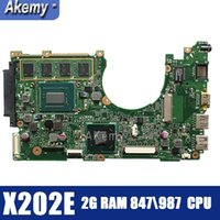 Wholesale motherboard for asus resale online - Amazoon X202E Laptop motherboard For Asus X202E X201E S200E X201EP Test original mainboard G RAM CPU