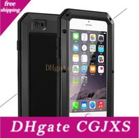 Wholesale rain apple for sale – best Hot Sell Luxury Doom Armor Shockproof Dropproof Rain Waterproof Metal Case For Iphone s s With Gorilla Glass Aluminum Cover
