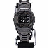 Wholesale water sports electronics for sale - Group buy Casual sports men s watch GMW B5000 LED digital display electronic watch camouflage steel belt folding buckle high quality