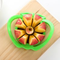 Wholesale apple slices resale online - 6 inch big cut apple tomato slice stainless steel multifunctional core remover kitchen vegetable cutting kitchen accessories