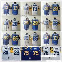 Wholesale faulk jersey resale online - NCAA Men Football Kurt Warner Marshall Faulk Eric Dickerson Deacon Jones Jack Youngblood Jersey Vintage