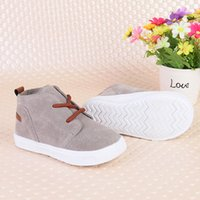 Discount new children shoes Autumn New Fashion Children Shoes Super Soft Comfortable Baby Girls Boys Suede Casual
