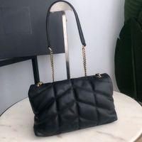 Genuine leather handbag chain crossbody bag shoulder bag for women fashion bags lady chains handbags sheep leather chain purse messenger bag