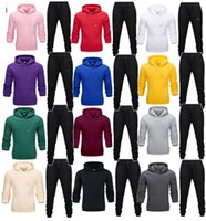 Wholesale mens tennis sweater resale online - Brand Designer Mens Tracksuit plus size outfits long sleeve set pullover tops pants sweater suit fall winter clothing jogger suit