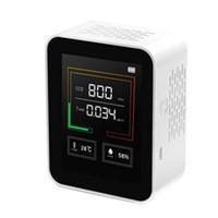 Carbon Dioxide CO2 Detector Gas Concentration Content Color Sn Ligent Air Tester Air Quality Analyzer CO2 Detector