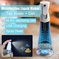 Wholesale electronics generator for sale - Group buy Household Electrolytic Disinfector Salt Water Generator Smart Electronic Sprayer Portable For Home Disinfectant Maker