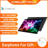 Wholesale Newest Teclast M40 Tablets Android Tablet PC GB RAM GB ROM inch MP Dual Camera Dual G Phone Call Bluetooth