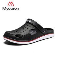 Wholesale slippers for mens resale online - MYCORON Summer Casual Fashion Soft Bottom Sandals For Men Mens Lightly Slipper Sapato Masculino