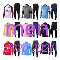 Wholesale New Mens soccer tracksuit football training suit New football tracksuit jogging survetement de foot chandal