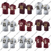Wholesale elite football jerseys resale online - 100th Vapor Elite Washington Redskins Custom Ryan Kerrigan Sean Taylor Terry Mclaurin Tress Way Football Jerseys