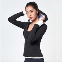 Wholesale Running Jacket Women Sports Jacket Top With Mesh Back Workout Top Fitness Zipper Training Workout Sportswear WT14