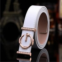 Discount wide belts men Women Men Brand Designer Belts High Quality leather Jeans Female male belt Silver Buckle