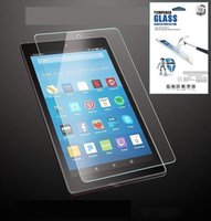 Wholesale fire packages resale online - 9H Tempered Glass Screen Protector For Kindle fire7 hd7 HD8 Fire HD with retail package