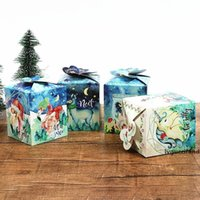 Wholesale return gift birthday party resale online - 20pcs Unicorn Flamingo Candy Box Kids Birthday Gift Box Party Decorations For DIY Christmas Party Decor Guests Return Gift