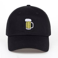 Wholesale hockey hats for sale - Group buy TUNICA N Casual hats beer hockey cotton baseball cap fashion men and women adult hip hop hat summer sunscreenX1016