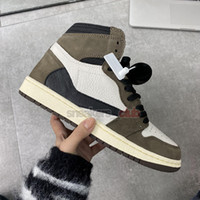 Wholesale best basketball shoes resale online - 2019 BEST New high og green brown Hight men basketball shoes sports sneakers trainers top quality size