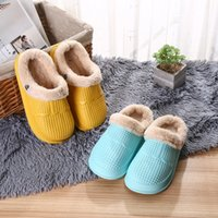 boys winter slippers 2021 - WINTER 2021 GIRL BOY KIDS CLOGS CHILDREN WATERPROOF CROC SHOES ANTI-SLIP HOUSE SLIPPERS SIZE 31 32 33 34 35 36 201113