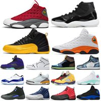 ingrosso jordan 5-air jordan retro 1 11 12 13 5 4 jordans aj1 aj 1 scarpe da basket all'aperto allevate 1s 11s Concord 12s 13s Flint 5s what the 9s sail 4s womens mens trainer Sneakers sportive