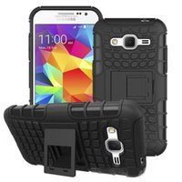 Wholesale casing case samsung galaxy grand prime online – custom Hybrid KickStand Impact Rugged Heavy Duty TPU PC Shock Proof Cover Case for Samsung Galaxy J1 J3 J310 J5 Grand prime Core prime