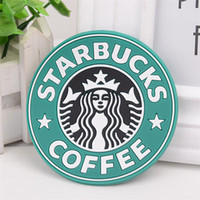 2020 Silicone Coasters Cup thermo Cushion Holder Starbucks sea-maid coffee Coasters Cup Mat Table decoration