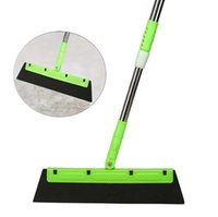 Wholesale plastic brooms resale online - Broom Multi function Mop Clean Scraper Broom Car Silicone Water Wiper Brush Window Shovel Removal Cleaner Sweeping Water Wiper FWD2379