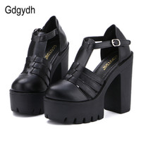 Wholesale china new casual shoes for sale - Group buy Gdgydh Hot Selling New Summer Fashion High Platform Sandals Women Casual Ladies Shoes China Black White Size EURO Roman