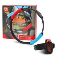 Wholesale cons for sale - Group buy For Switch Ns Game Ring Fitness Fit Adventure Easiest Way To Weight Lose Products Sport Exercises Con With Adjustable Elastic Leg Strap Set