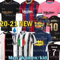 Wholesale 20 JUVENTUS BARCELONA Messi Soccer Jerseys RONALDO GRIEZMANN ANSU FATI DE LIGT DYBALA BUFFON RABIOT Football Shirt