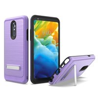 Wholesale silver legacy for sale - Group buy For Coolpad Legacy For Lg G8 Thinq Hybrid Armor Case Soft Tpu Pc Kickstand Holder Phone Cover A