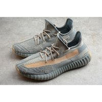 Wholesale clay yellow resale online - Mens Kanye West Israfil V2 Sneakers Antlia Abez Carbon M Reflective Zebra Turle Dove Clay Marsh Cream Static Cinder Zyon Running Shoes