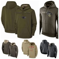 Wholesale patriot style for sale - Group buy New England Patriots Men Women Youth Hot Style Sweatshirt Tan Salute to Service Sideline Therma Performance Pullover Hoodie