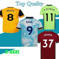 Wholesale new soccer shirts resale online - S XXXL Wolves soccer jersey MAN kit Home yellow away J MOUTINHO RAUL NEVES PODENCE football shirts DENDONCKER ADAMA new Wolves