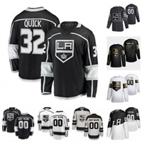 Wholesale gretzky jersey king for sale - Group buy Custom Los Angeles Kings Wayne Gretzky Anze Kopitar Jonathan Quick Luc Robitaille Dion Phaneuf Hockey Jersey Women Stitched