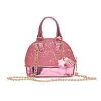 Wholesale pink bags for little girl for sale - Group buy Little Girls Sequins Handbags Princess Crossbody Bag Mini Satchel Gifts For Girls Toddler Kids Pink