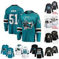 Wholesale sharks hockey resale online - Custom San Jose Sharks Radim Simek Stefan Noesen Tim Heed Trevor Carrick Joel Kellman Alexander True Hockey Jerseys Women Stitched