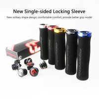 Wholesale cycling handle grips for sale - Group buy 1 Pair Bicycle Handlebar Cover Grips Soft Sponge Anti Skid Cycling Bike Grips Mountain Road Bike Lock On Handle End