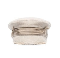 Wholesale military peak hat for sale - Group buy Autumn New Retro Newsboy Hat Female Ins Japanese Tethered Cotton And Linen Navy Hat British Peaked Cap Beret Military Hats