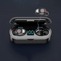 Stock White Bluetooth TWS Earphones for Phone Auto Paring Earbuds Wirless Drop Ship