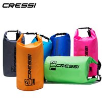 Wholesale waterproof bag 15l for sale - Group buy Black friday Cressi Dry Bags Big Volume Diving Equipment Waterproof Bag for Snorkeling Dive L L L Easy Carry