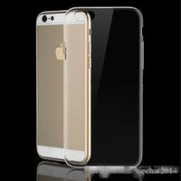 Wholesale iphone 5c skins online – custom Transparent TPU Gel Crystal Clear Ultra Thin mm Clear Soft Back Case Cover Skin for iPhone s s c Plus s Plus Plus