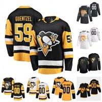 Wholesale jake guentzel jersey resale online - Custom Pittsburgh Penguins Sidney Crosby Jake Guentzel Kris Letang Matt Murray Mario Lemieux Jason Zucker Hockey Jersey Women Stitched