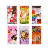 Wholesale stocking stuffer resale online - Cat Tarot Cards Guidebook Whimsical And Humorous Tarot Deck Stocking Stuffer For Kitten Lovers Cards Cats Wisdom bbyWez homebag