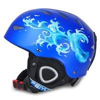Wholesale kids winter sport wear for sale - Group buy Winter Kids Ski Helmet Children Breathable Snowboard Helmet Boys Girls Outdoor Sports Keep Warm Skiing Skating Head Wear