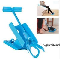 Wholesale sock aids resale online - Sock Aid Slider Easy On and Off Sock Slider Helper No Bending Stretching for Pregnancy and Injuries Living Tool KKA4813